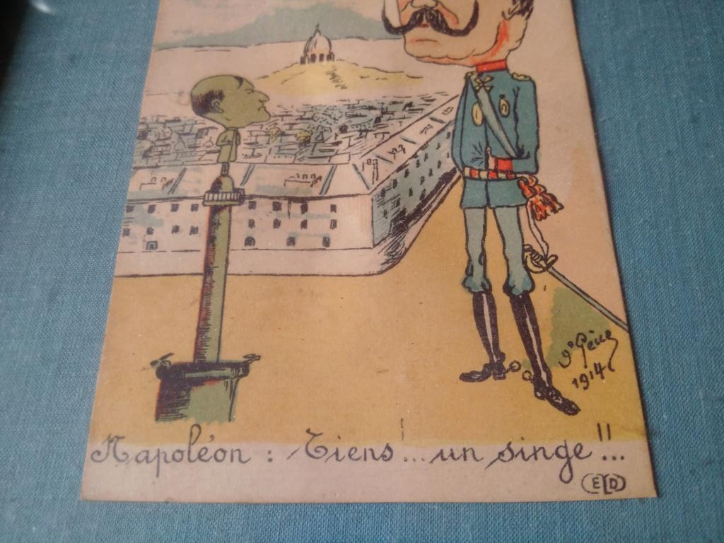Caricature du kaiser carte postale éditions Ernest Le Deley Img_2034