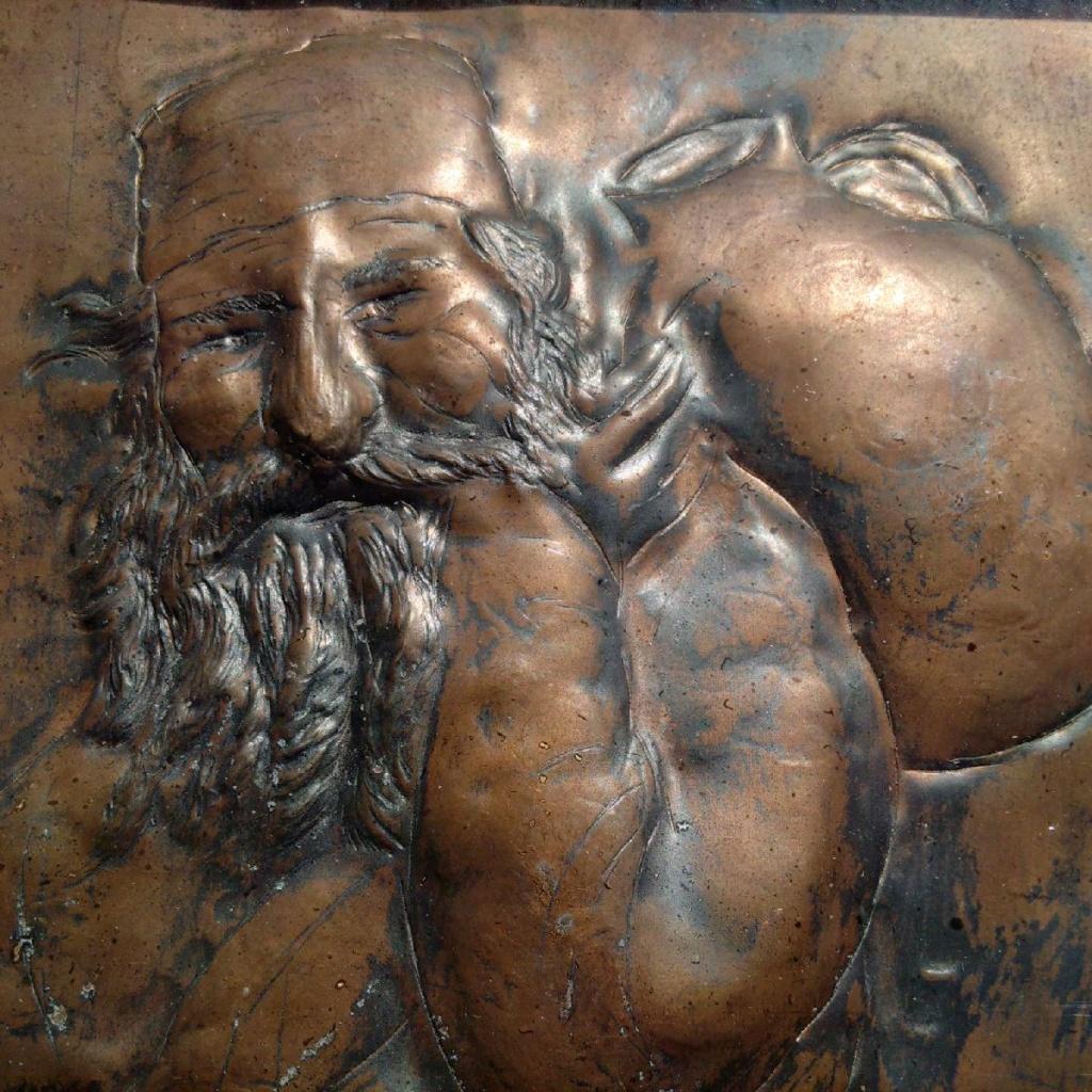 Grand tableau grec ? cuivre repoussé ?  Img_2203