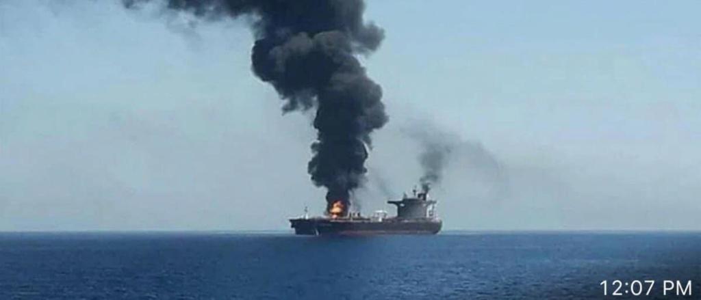 استهداف ناقلة نفط إيرانية بالقرب من سواحل #جدة  72924310