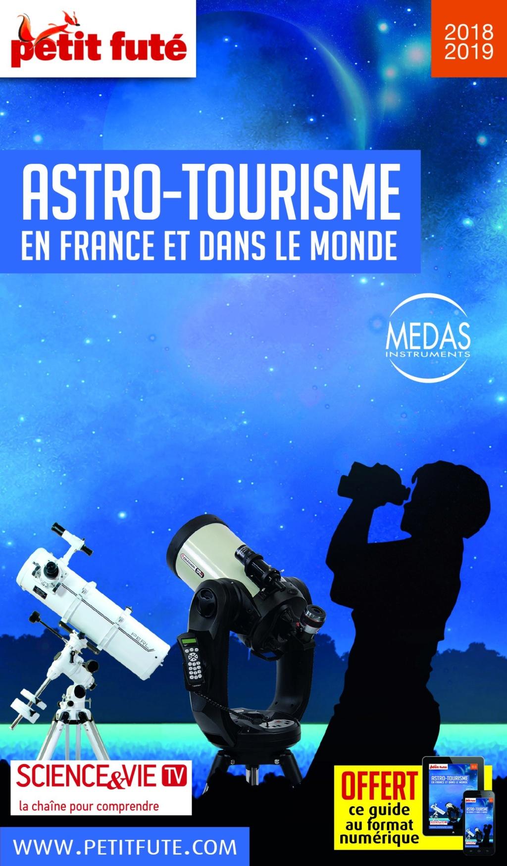Livre : Guide de l'Astro-Tourisme en France et dans le Monde 2018 Petit Futé 111