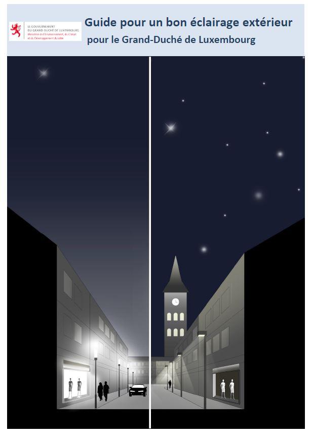 Guide pour un bon éclairage extérieur pour le Grand-Duché de Luxembourg 11110