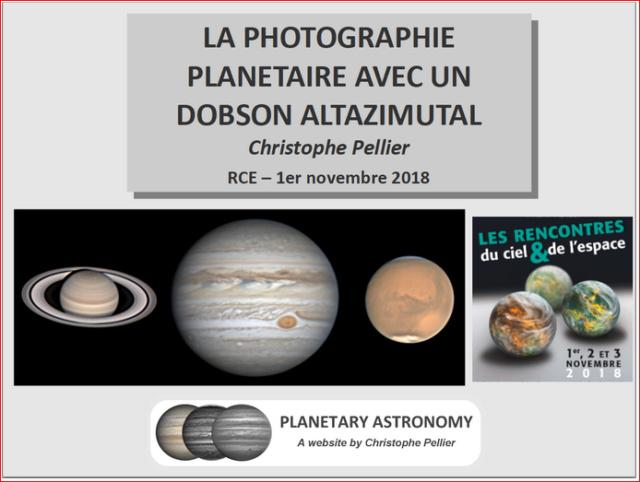 La photographie planétaire avec un Dobson altazimutal 118