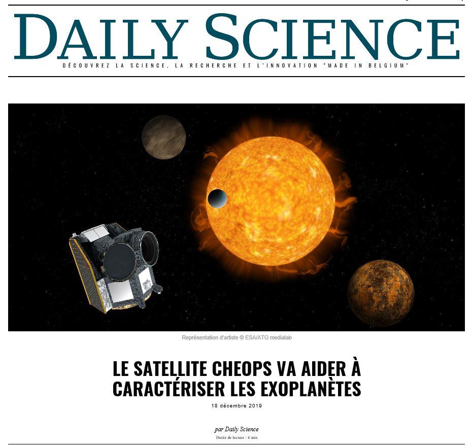 Exoplanètes :  Recherches et infos  125