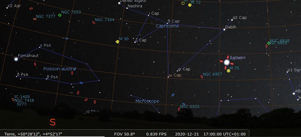 conjonction de Jupiter et Saturne (décembre 2020) 131