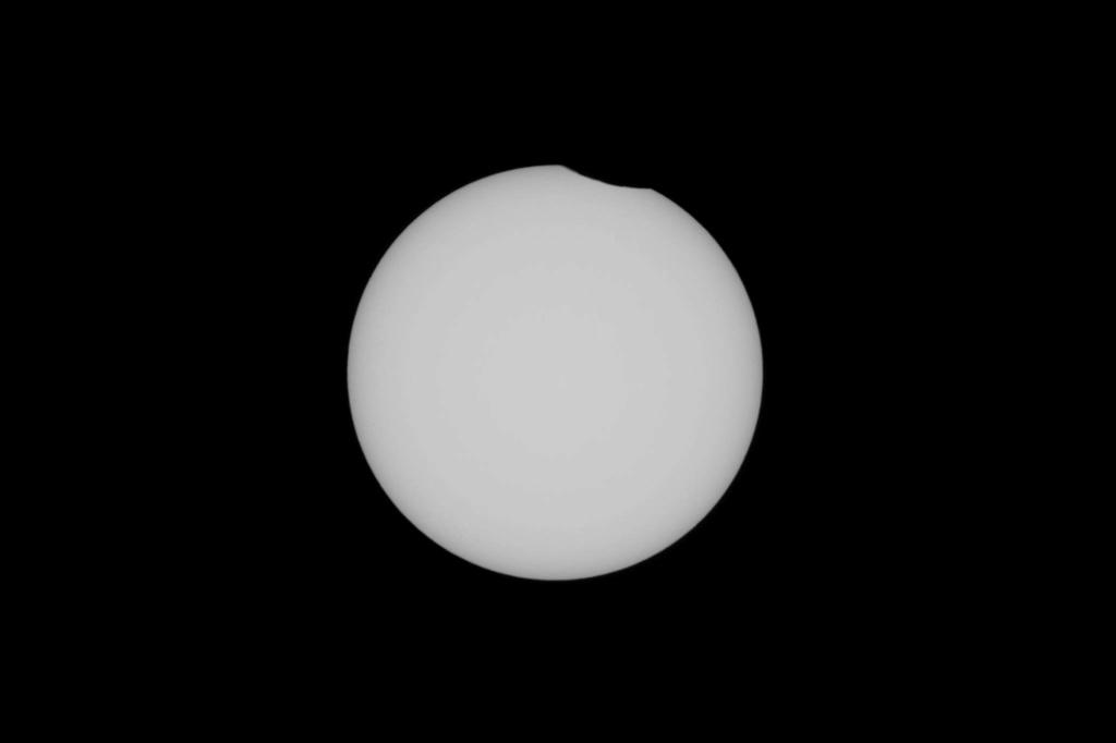 Eclipse partielle du Soleil de ce 10 juin 2021. 136