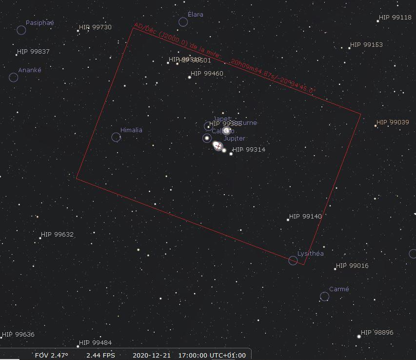 conjonction de Jupiter et Saturne (décembre 2020) 218
