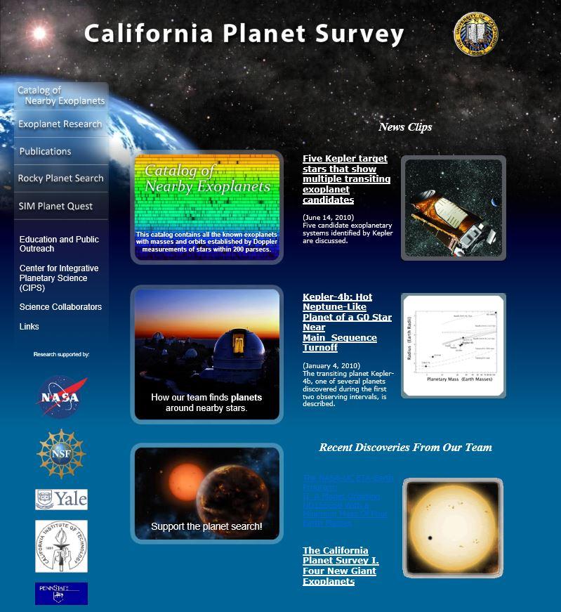 Exoplanètes :  Recherches et infos  411