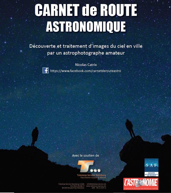 astrophotographie - Carnet de route astronomique -CATRIX Nicolas A110
