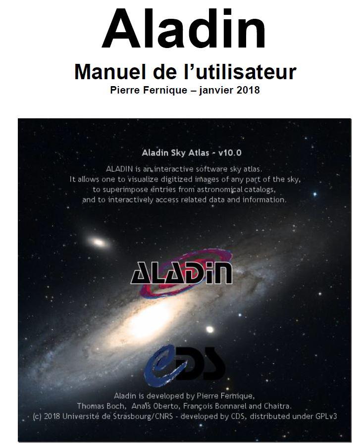 Aladin : Beta version v10.009 → 25/7/2017 Al10