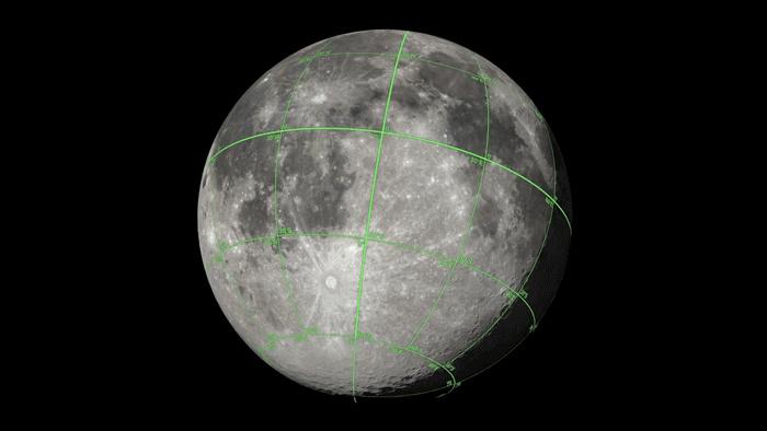 La NASA publie un incroyable modèle 3D de la Lune Moonwr10