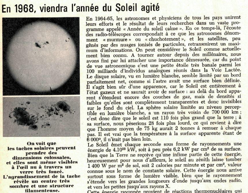 Anciennes actualités ASTRO … Sol10