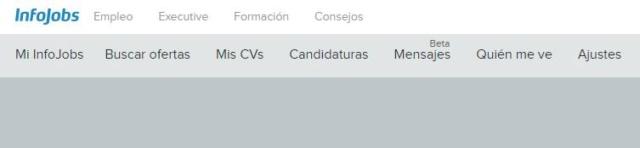Candidaturas en Infojobs 115