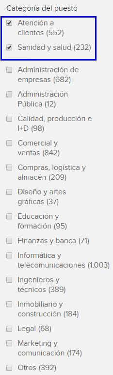 Candidaturas en Infojobs 711