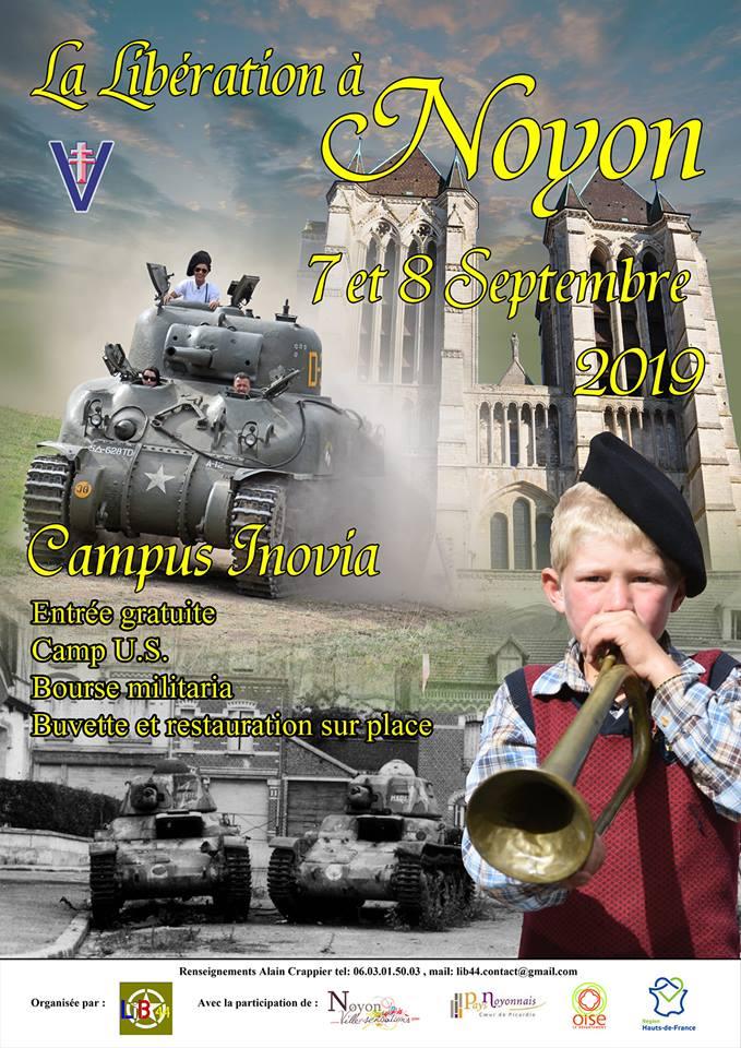 Bourse militaria et camp US a Noyon (Oise) les 7 et 8 septembre 2019 Img_3510