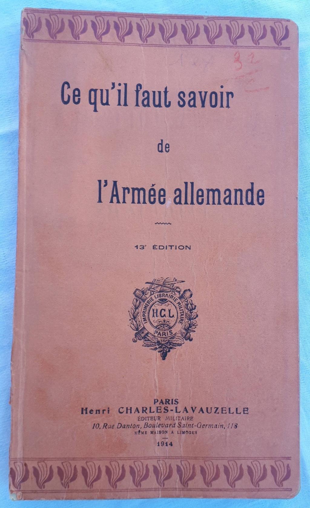 Livret allemand 1917 pour identification Armée Française Img_4623