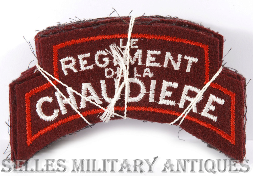 Regiment de la Chaudiere Shoulder Patches Dsc_0010