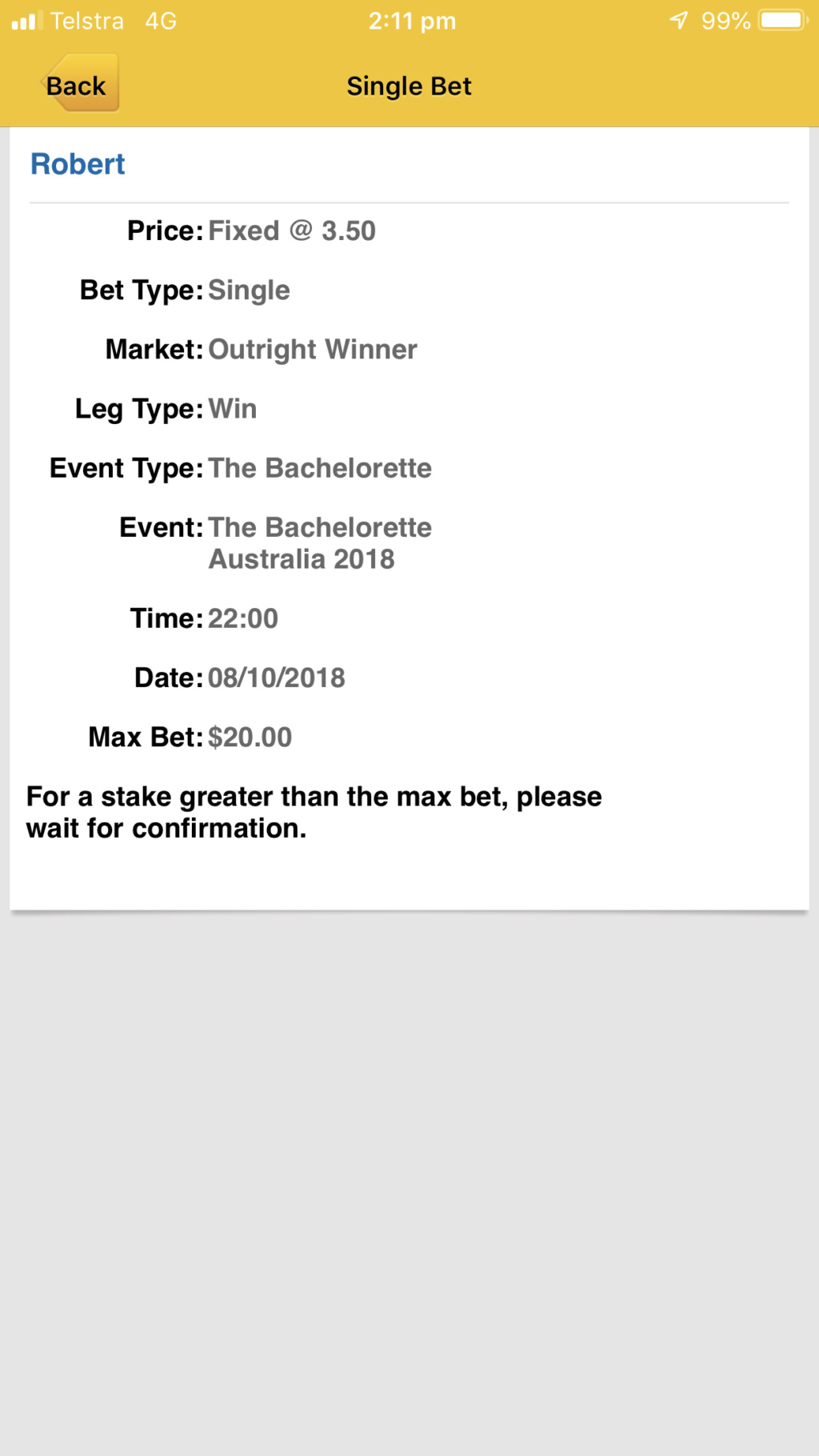 Bachelorette Australia - Season 4 - Ali Oetjen - Betting Odds - *Sleuthing Spoilers* - Page 5 128b1710