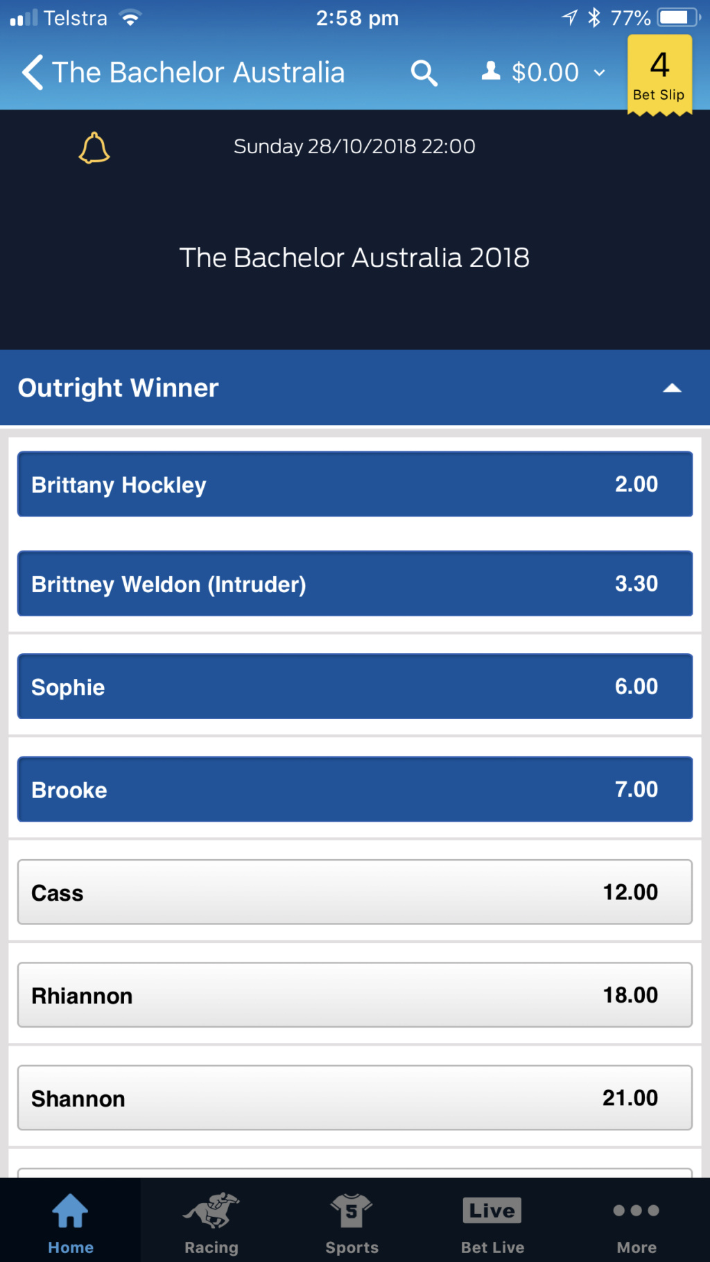 Bachelor Australia Season 6 - Nick Cummins - Betting Odds - *Sleuthing Spoilers* - Page 10 5d7c6d10