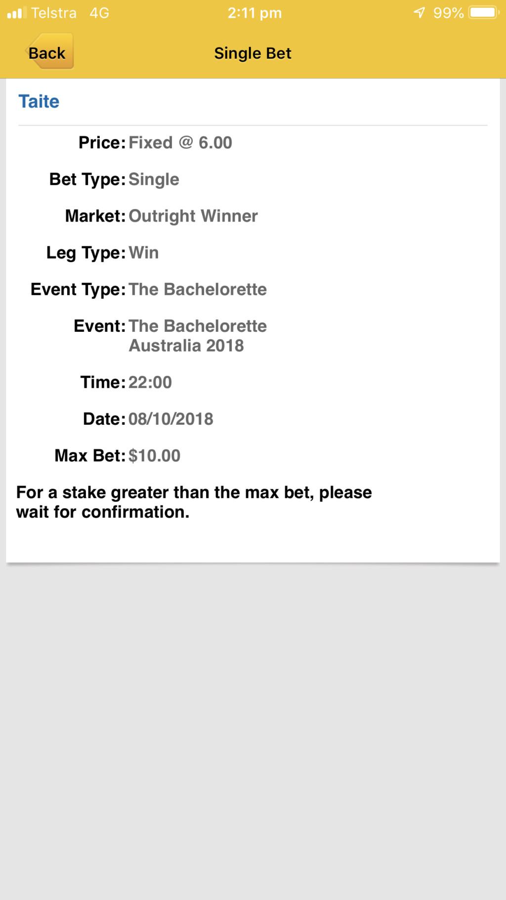 Bachelorette Australia - Season 4 - Ali Oetjen - Betting Odds - *Sleuthing Spoilers* - Page 5 7961cf10