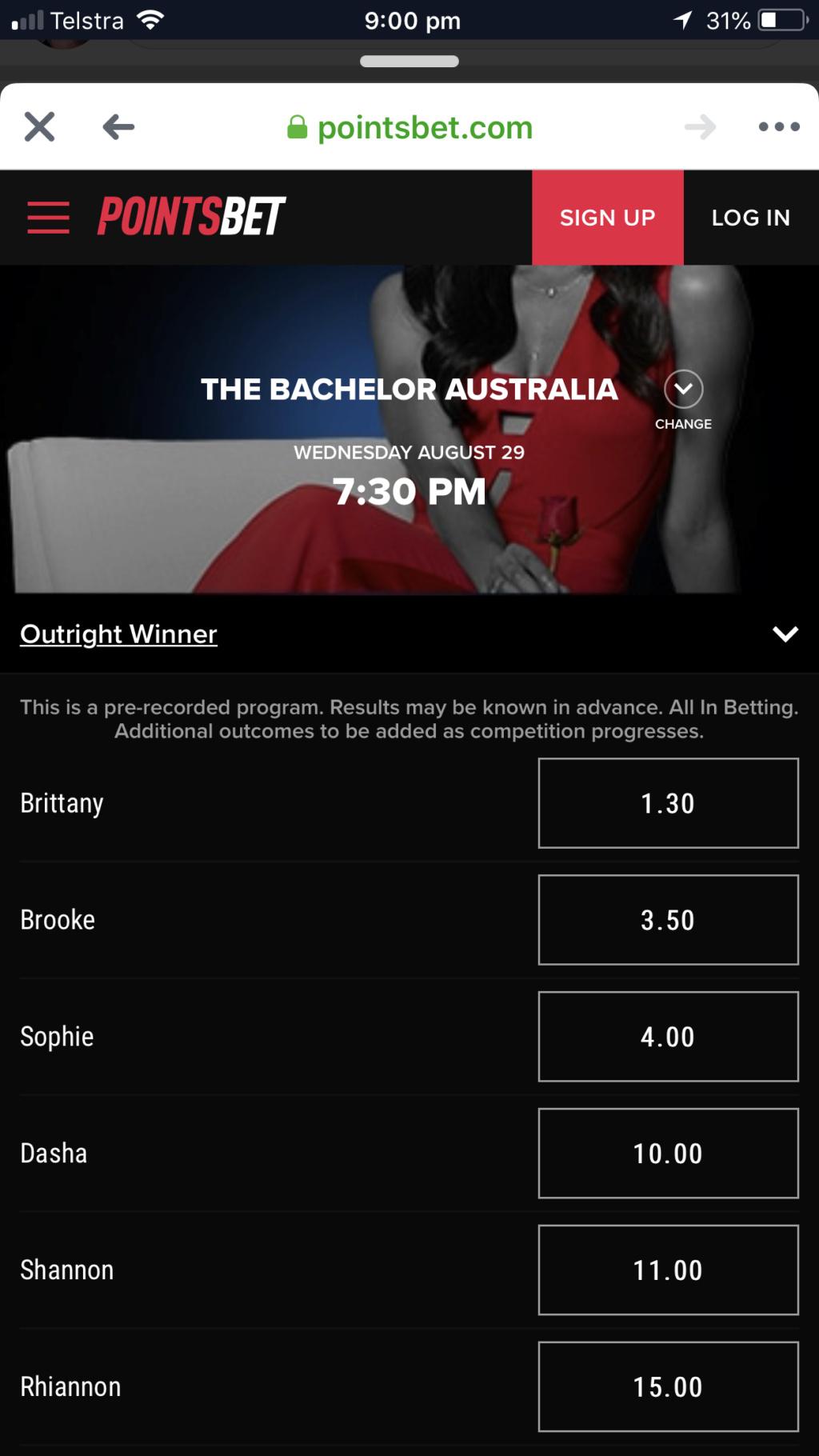 Bachelor Australia Season 6 - Nick Cummins - Betting Odds - *Sleuthing Spoilers* - Page 9 F470c610