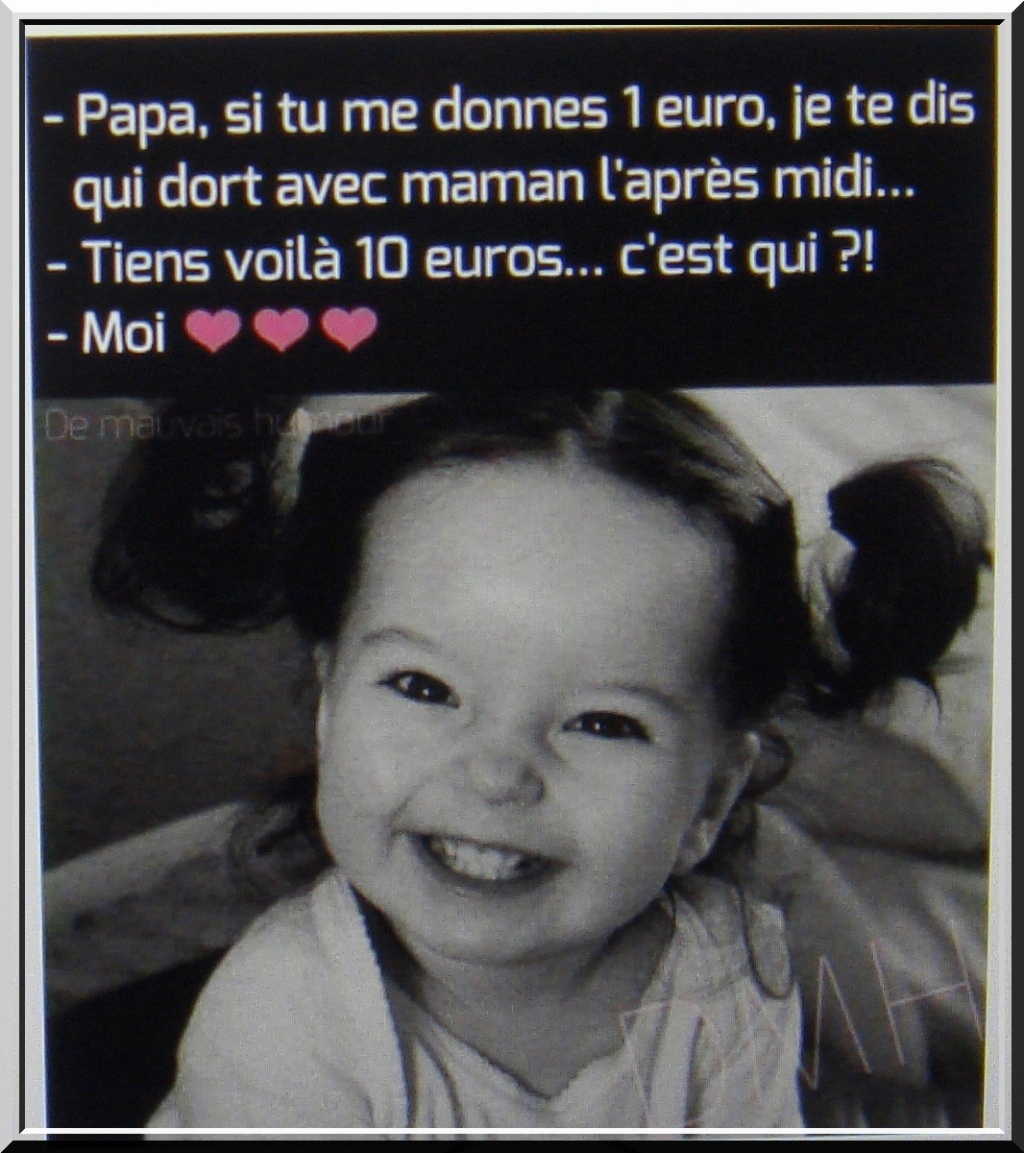Petite pause sourire ! (*;') - Page 14 1-dsc400