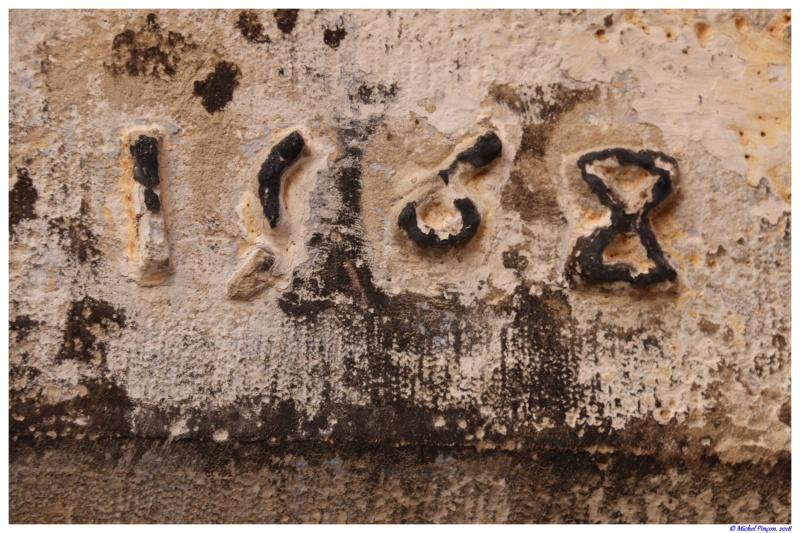 Fil ouvert-  Dates sur façades. Année 1602 par Fanch 56, dépassée par 1399 - 1400 de Jocelyn - Page 4 Dsc01635
