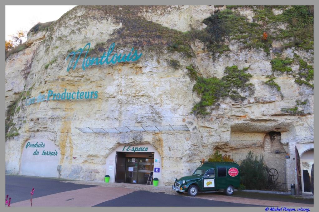 [ Histoires et histoire ] Les Caves Monmousseau de Montrichard -  Histoire vécue en juin 1940 Dsc08496