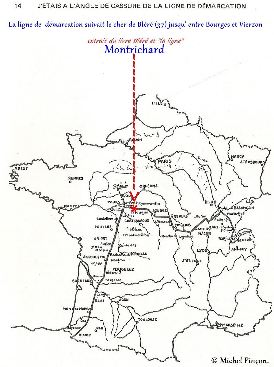 [ Histoires et histoire ] Les Caves Monmousseau de Montrichard -  Histoire vécue en juin 1940 Numzo155