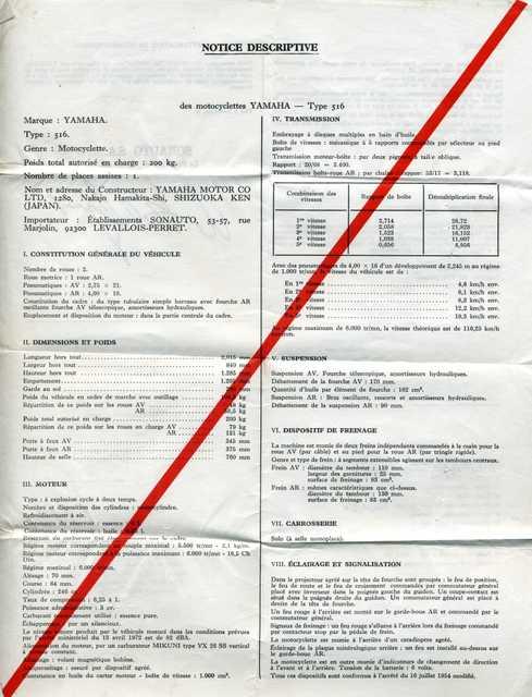 TY 250 516 Certificat de conformité Img50410