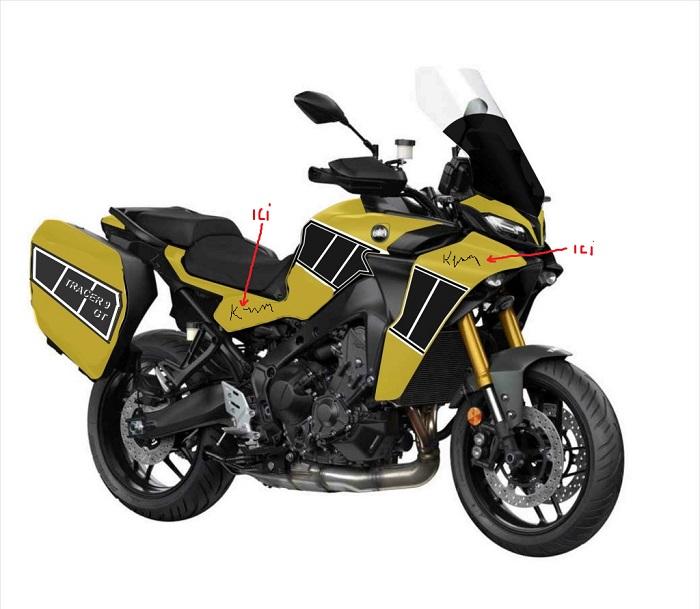 Personnalisation peinture et nos délires Moto1011