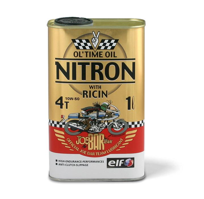 "Huile moteur ""nitron"" de chez ELF Ricin10"
