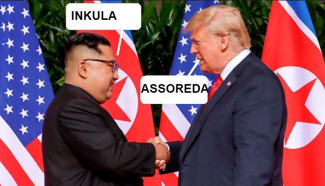 Incontro Kim con Trump . Kim11