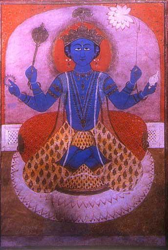 Ecco perchè Buddha mi era uscito dalla Faccia Blu di Visnu ! Visnu_10