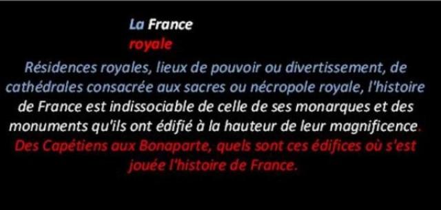 La vie des rois en France * G_0010