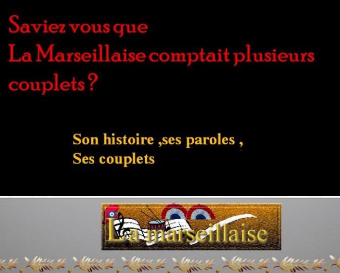 La Marseillaise et son histoire  G_0123