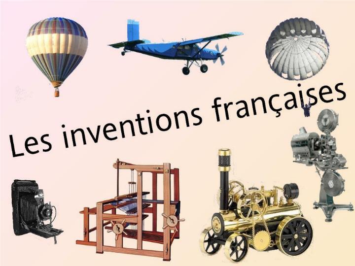 L´histoire des inventions françaises * G_0184