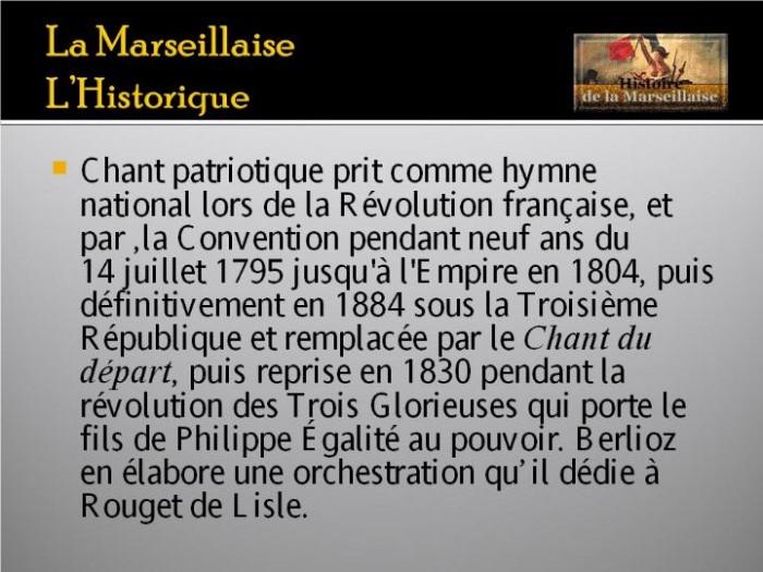 La Marseillaise et son histoire  G_0228