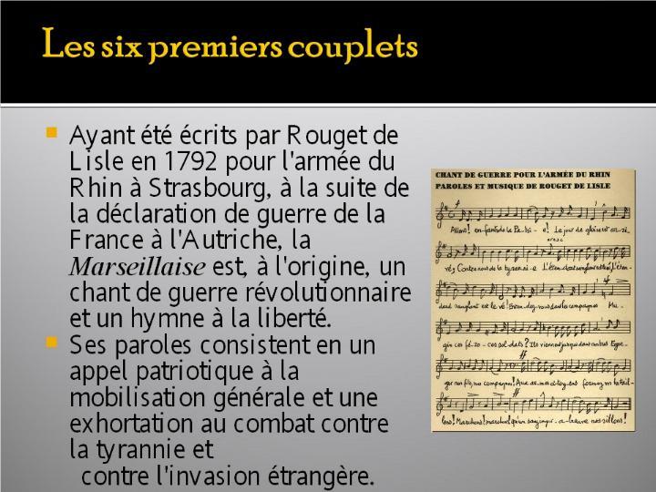 La Marseillaise et son histoire  G_0325