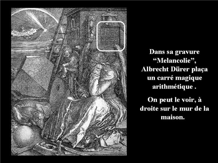 Carré magique de Durer G_0356