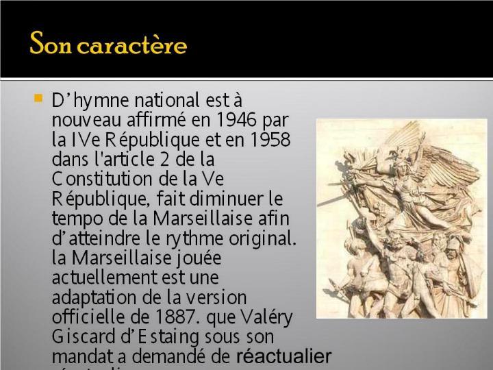 La Marseillaise et son histoire  G_0423