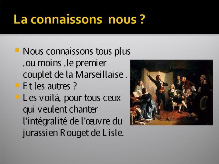 La Marseillaise et son histoire  G_0523