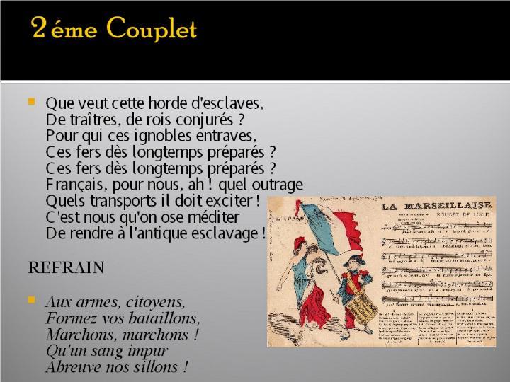 La Marseillaise et son histoire  G_0724