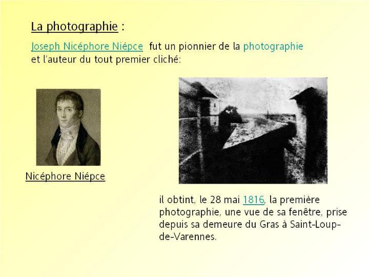 L´histoire des inventions françaises * G_1071