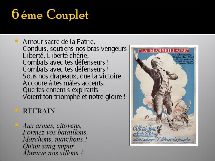 La Marseillaise et son histoire  G_1120