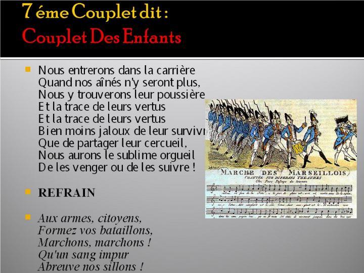 La Marseillaise et son histoire  G_1216