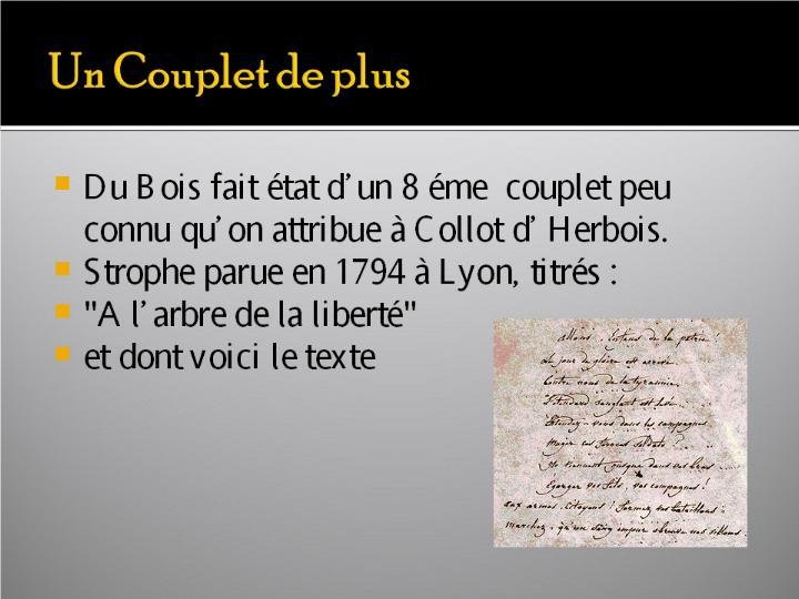La Marseillaise et son histoire  G_1315