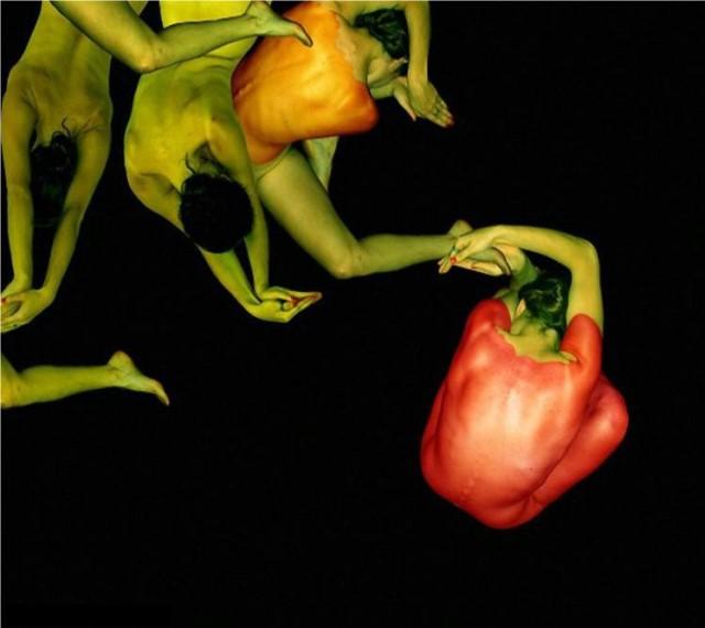 Le corps humain en fleurs * G_1513