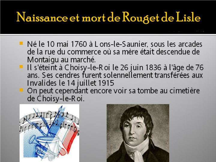 La Marseillaise et son histoire  G_1518