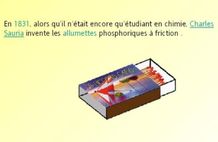 L´histoire des inventions françaises * G_1553