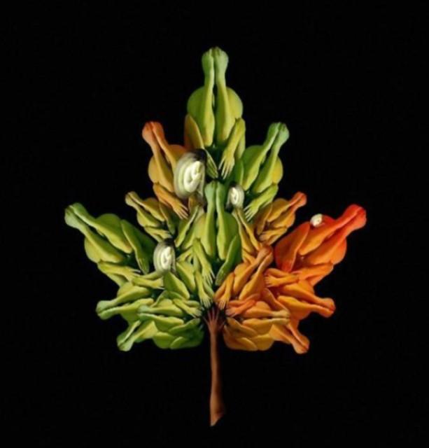 Le corps humain en fleurs * G_1838
